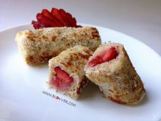 STRAWBERRY ROLL by SweetFran