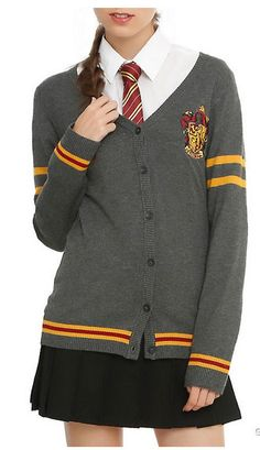 Officially Licensed Harry Potter Gryffindor Cardigan