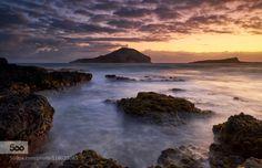 Morning Light by CharlesRamiscal  clouds hawaii light long exposure ocean rocks seascape sky sun sunrise travel water waves CharlesRam