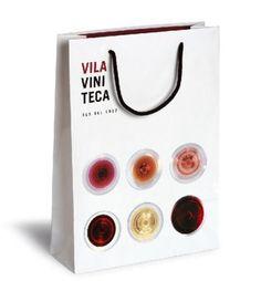 bolsas para VilaViniteca, diseño de Pati Nuñez PD