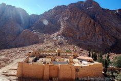 coloured canyon day trip sharm el sheikh egypt St. Catherine's Monastery