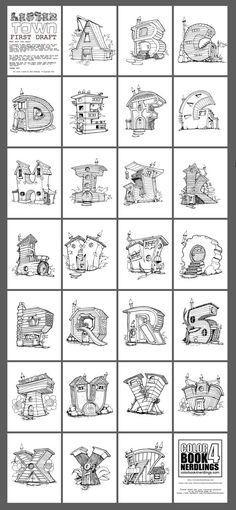 Here's my first draft of the LETTER TOWN! I plan on making some changes along with adding numbers. If you would like to review or give me feedback I'll send you a link to a free version of the book. See More at my Etsy Store! https://www.etsy.com/listing/474318723/lettertown-alphabet-coloring-book