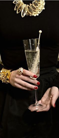 Champagne and class luxe life, gold fashion, some enchanted evening, noel a