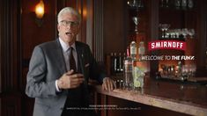 ▷ Smirnoff Ted Danson learns how long 6 seconds is Ad Commercial on TV 2018 Jenna Fischer, Laverne Cox, Smirnoff, Tv Commercials, Comedians, Ted, Campaign, Learning, Youtube