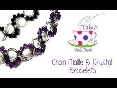 Chain Maille Bracelet | Take a Make Break with Sarah Millsop ❤️ - YouTube