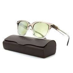 #OliverPeoples #Masek #Sunglasses in Grey Fade & Silver Mirrored Lenses