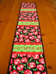 So cheerful  Quilted Table Runner