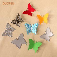 Scrapbooking, Diy Scrapbook, Stencil Diy, Stencils, Butterfly Cutout, Album Diy, Metal, Butterflies, Free Shipping
