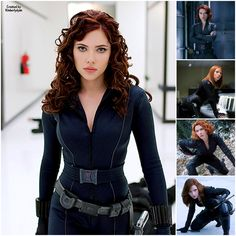 The Black Widow created by Kimberlydyan