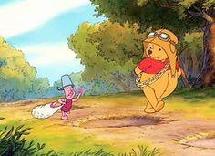 Winnie the Pooh and piglet too! Winne The Pooh, Winnie The Pooh Quotes, Disney Winnie The Pooh, Old Disney, Cute Disney, Disney Pixar, Eeyore, Tigger, Monsters Inc Boo