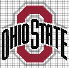 OHIO STATE BUCKEYES ... by YarnLoveAffair | Crocheting Pattern - Looking for your next project? You're going to love OHIO STATE BUCKEYES Graphghan Pattern by designer YarnLoveAffair. - via @Craftsy