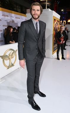 Liam Hemsworth at the #TheHungerGames: Mockingjay premiere in L.A.