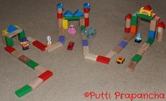 Play and Learn with Blocks ~ Putti's World -kids-activities