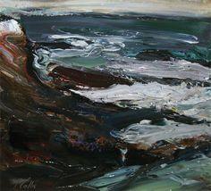 "Peter Collis  - "" Mayo Seascape"""