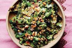 Roasted and Charred Broccoli with Peanuts recipe