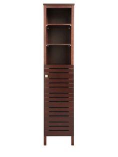 Roca Nexo Wooden Tall Bathroom Cabinets - Oak | Tall Cabinets ...