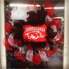 Arkansas Razorbacks Wreath!