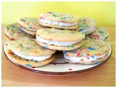 Homemade Funfetti Cake Cookies