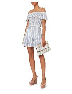 LOVESHACKFANCY Elizabeth Striped Dress