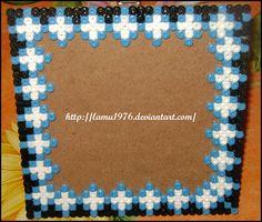 Portafoto 15 x 15 hama beads by ♥ Arti & Mestieri