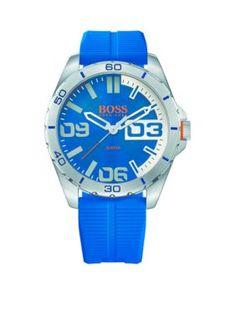 Boss By Hugo Boss Men's Men's Blue Berlin Watch - Blue - One Size