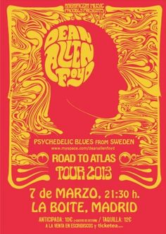 Dan Allen Foyd - Psychedelic Blues from Sweden. Tour 2013