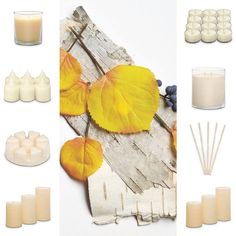 NEW fragrance, Golden Birch - rich woods and spice combine with a smoky air for an inviting by-the-fire ambience.