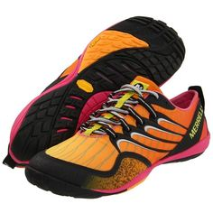 We just love the bright colors Merrell uses for their shoes!