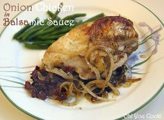 Oh! You Cook!: Onion Chicken in Balsamic Sauce - Secret Recipe Club