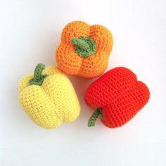 Crochet Pepper Pattern / Crocheted Pepper / by LittleConkers