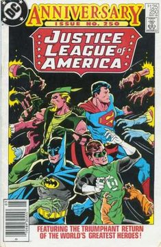 Justice League of America #250