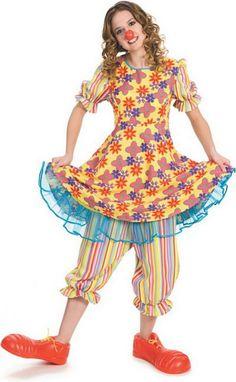 Cute clown costume for women  http://barnaclebill.hubpages.com/hub/ClownCostumes