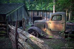 Old Farm Pickup Truck  A Fine Art Photograph by RandyNyhofPhotos, $30.00