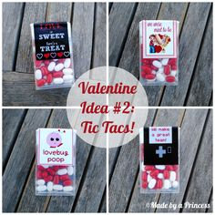 Classroom Valentine Idea using Tic Tacs candy. Includes FREE download. http://www.madebyaprincessblog.com/2014/02/Classroom-Valentine-Idea-with-Free-Download.html#axzz2sUmXRt6y  {Made by a Princess Parties in Style}