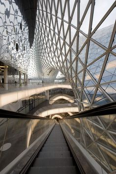 Mab Zeil Shopping Center in Frankfurt, Germany by Massimiliano Fuksas