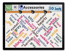 Word Mess - find 10 Accessories