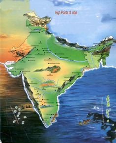 High Point India Map