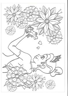 Cartoon Coloring Pages, Flower Coloring Pages, Coloring Pages To Print, Free Coloring Pages, Coloring Sheets, Coloring Books, Disney Princess Coloring Pages, Disney Princess Colors, Disney Colors