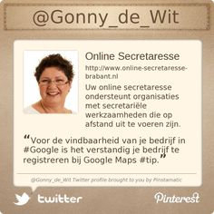 @Gonny_de_Wit's Twitter profile courtesy of @Pinstamatic (http://pinstamatic.com)