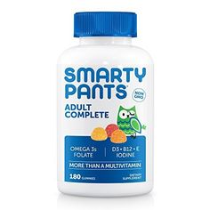 SmartyPants Adult Complete is more than a multivitamin. We're the galaxy's best tasting gummy vitamin, packed with essential nutrients, including vitamin D3, and omega 3 fish oil – all in one. We use premium ingredients and include the forms of nutrients that are easily absorbed by the body whene... more details at http://supplements.occupationalhealthandsafetyprofessionals.com/vitamins/multi-prenatal-vitamins/multivitamins/product-review-for-smartypants-adult-complete-