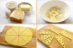 Na Cozinha da Margô: Biscoito de Queijo só com 4 Ingredientes