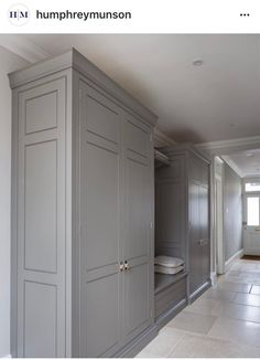Trim out side of office built ins like this