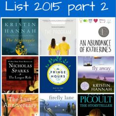 Summer Reading List 2015 Part 2