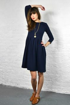 Storm & Marie Lisa Navy Dress
