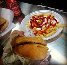 La mejor hamburguesa de Zaragoza. El Rapid.