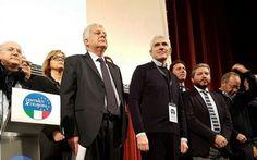 Nascono i centristi per l'Europa «No a Italia in mano a Grillo o Salvini»/VIDEO