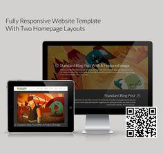 Looking For The Perfect Portfolio WordPress Theme? Meet Blogger – A Responsive Blog & Folio WordPress Theme