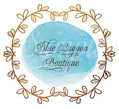 Blue Lagoon Logo Design - One of a kind design Marketing Merchandise, Web Design, Logo Design, Blue Lagoon, Business Planning, Handmade Gifts, Logos, Creative, Crafts