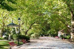 Portugal, Gazebo, Sidewalk, Outdoor Structures, Paths, Viajes, Gardens, Centre, Beauty