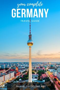 Germany is rated one of the safest and most popular travel destinations in the world. Learn more about visiting Germany and what to do on your trip. #travelguideline #germany